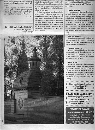 Gazeta Lesnicka 6
