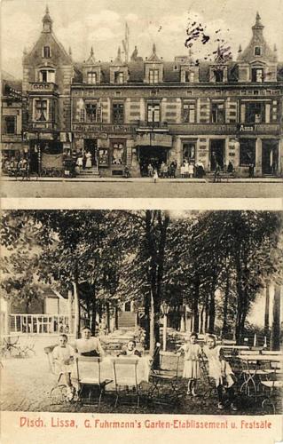 10 Dtsch. Lissa, G. Fuhrmann's Garten-Etablissement u. Festsale.