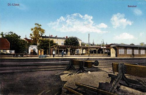 13 Dt.-Lissa. Bahnhof.