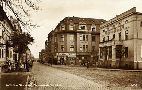 14 Breslau-Dt.Lissa, Neumarkterstarsse.