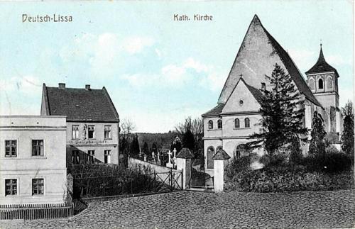 2 Deutsch - Lissa. Kath. Kirche.