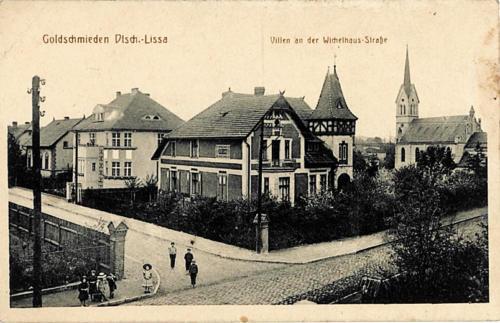 22 Goldschmieden Dtsch.-Lissa. Villen an der Wichelhaus-Strasse.