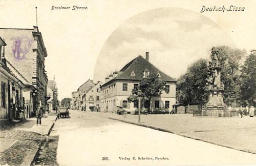 25 Breslauer Strasse. Deutsch-Lissa. 305. Verlag C. Schroter, Breslau.