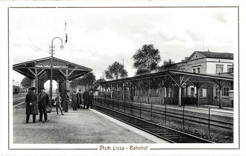 4 Dtsch. Lissa. Bahnhof.