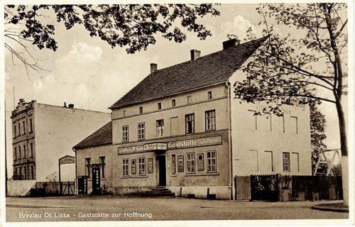6 Breslau Dt. Lissa - Gaststatte zur Hoffnung.