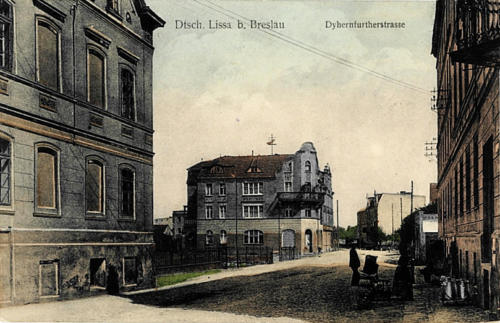 9 Dtsch Lissa b. Breslau - Dyhernfurtherstrasse